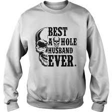 Skull Best As Hole Husband Ever shirt - Kingteeshop