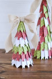 Paper Christmas Tree Ornaments Paper Christmas Tree Decor Tutorial Darice