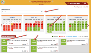 Tirumala Accommodation Availability Chart Ttd Online Room Booking Availability How To Check