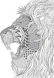 Coloring Pages Free Mandala Coloring Pages Animals Difficult Page