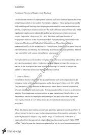 employment relations essay work foundations of work and  employment relations essay