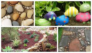 Rock decorating ideas River Some Fabulous Diy Garden Decorating Ideas With Rocks And Stones My Gardening Ideas Some Fabulous Diy Garden Decorating Ideas With Rocks And Stones My