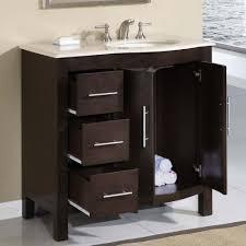 36 silkroad kimberly single sink cabinet bathroom vanity hyp 0912 cm uwc 36 r