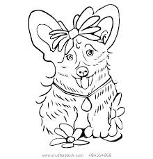 Police Dog Coloring Pages Pet Coloring Sheets Puppy Dog Coloring
