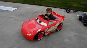 power wheels 24 volt battery upgrade on disney pixar lightning mcqueen race car you