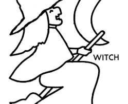 Small Picture Free Printable Witch Coloring Pages For Kids Coloring Coloring Pages