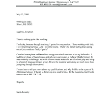 Resume Cover Letters For High School Students Letter A Student How