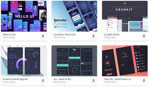 Top 35 Free Mobile Ui Kits For App Designers 2019 Colorlib