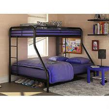 twin over full bunk beds metal bunkbeds kids teens dorm bedroom furniture new bedroom furniture teenagers