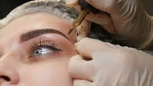 permanent makeup video stock videos