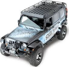 off road unlimited roof racks garvin industries wilderness expedition rack for 07 13 jeep