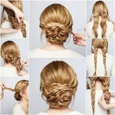 Tresse Rapide Et Facile Cheveux Mi Long Cheveux Long