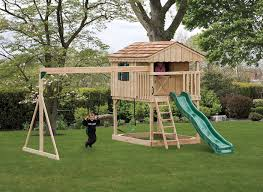 Building A Playground Area In Your Backyard Building A Backyard Playground