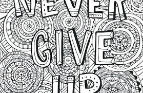 Inspirational Coloring Pages For Adults Printable All Quotes