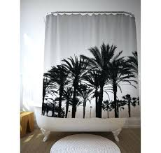 palm tree shower curtain image 0 palm tree shower curtains bath accessory sets