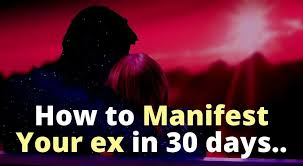 How to manifest him to think about you. How To Manifest Your Ex Back In 30 Days Modern Day Manifestations