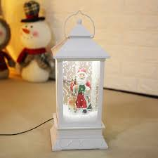 Musical Outdoor Christmas Lights New Year Roman Inc Snow Globe Water Globe Music Box We Wish