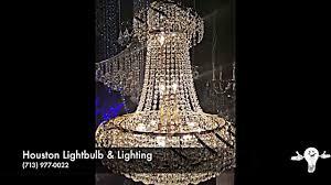 houston lightbulb lighting crystal chandeliers