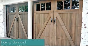 stain waterproof cedar wood garage door how to weatherwood stain aging making new wood look old