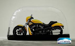 carcapsule indoor motorcycle storage bubble cover