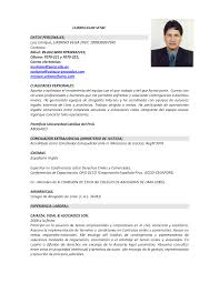 Awesome Formato De Resume Photos Simple Resume Office Templates