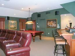 Design My Basement Stunning BASEMENT WITH WET BAR GAME ROOM AND THEATERTHE COLOR SCHEME IS LESS