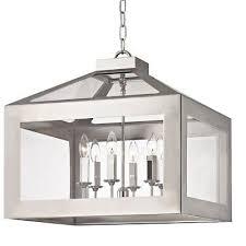 crystorama hurley 4 light polished nickel chandelier 19 5x21 6056 pn