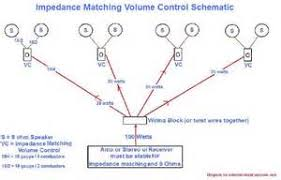 speaker volume control wiring diagram images impedance matching volume control wiring diagram motor