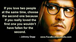 Johnny Depp Quotes About Love Beauteous Inspirational Love Quotes And Quotations By Johnny Depp Golfian