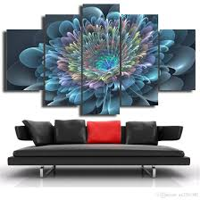 2018 blue transparent flowers canvas print painting modern canvas wall art for wall pcture home decor artwork dh002 from ax2516387 14 08 dhgate com on canvas wall art blue flowers with 2018 blue transparent flowers canvas print painting modern canvas