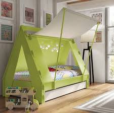 Kids Tent Cabin Canopy Bed - $1675 This brings me back to camp, I ...
