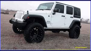 jeep wrangler white 4 door. Simple White White And Black Jeep Wrangler 4 Door Off Road 4x4s On A