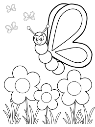 Easy Coloring Pages For Toddlers Funycoloring