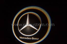 Car door led logo projector light us: Mercedes Benz Led Door Projector Courtesy Puddle Logo Lights Mr Kustom Auto Accessories And Customizing