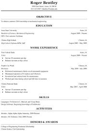 Freshman College Student Resume Berathen Com