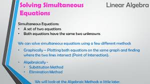20 simultaneous equations