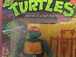 A little too much #ooze. 1988 Teenage Mutant Ninja Turtles Unpunched Michaelangelo Tmnt Playmate Toys 1823738826