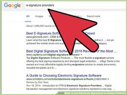 How To Use Electronic Signatures On Online Contracts 14 Steps