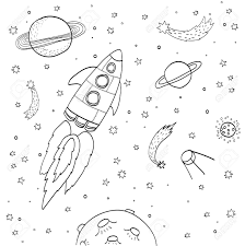 Space Drawings Ideas Outer Aesthetic Easy Cute Books Amazing Pics