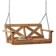all cedar wood porch swing 2006614com