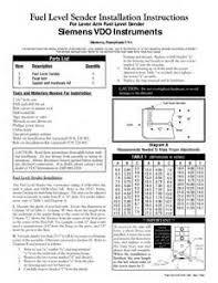 vdo voltmeter wiring diagram images vdo oil pressure gauge wiring for lever arm fuel level sender siemens vdo instruments