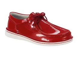 pasadena women s natural patent leather in red birkenstock shoe removable footbed suede lined