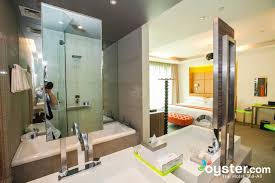 the oasis suite with bathtub pre renovation at the klapstar boutique hotel