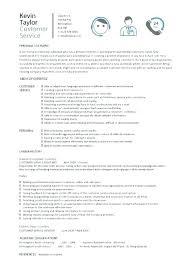 Good Customer Service Resume Magnificent Customer Service Skills Resume Template Resume Professional Summary