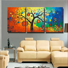 Large Living Room Paintings Wall Art Extra Large Painting Cityscape Abstract Painting Textured