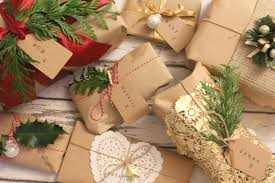 Christmas Gift Wrapping Ideas With Brown Paper
