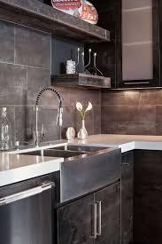 Kitchen  Popular Dark Rustic Kitchen Tables Modern Rustic Kitchen - Rustic modern dining room ideas