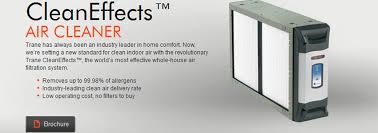trane cleaneffects filter. Simple Trane Trane Clean Effects Air Cleaner With Cleaneffects Filter E