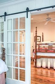 interior barn door with glass. From Pre-Fab To Farmhouse - Bedroom Atlanta Historical Concepts Doors Living Porch Interior Barn Door With Glass D