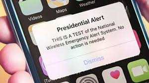 First Message Alert Send To Feds Test Emergency Cell Presidential wqtZdvxXZ